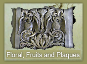 Floral, Fruits and Plaques