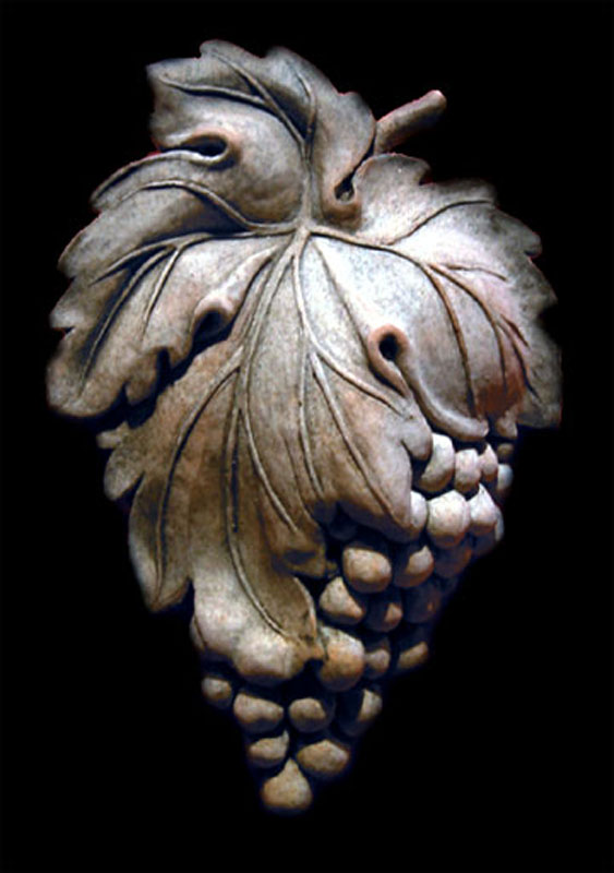 Grapes Cluster plaque